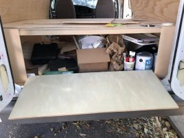 Building Out The Ford: Underneath The Bed Storage