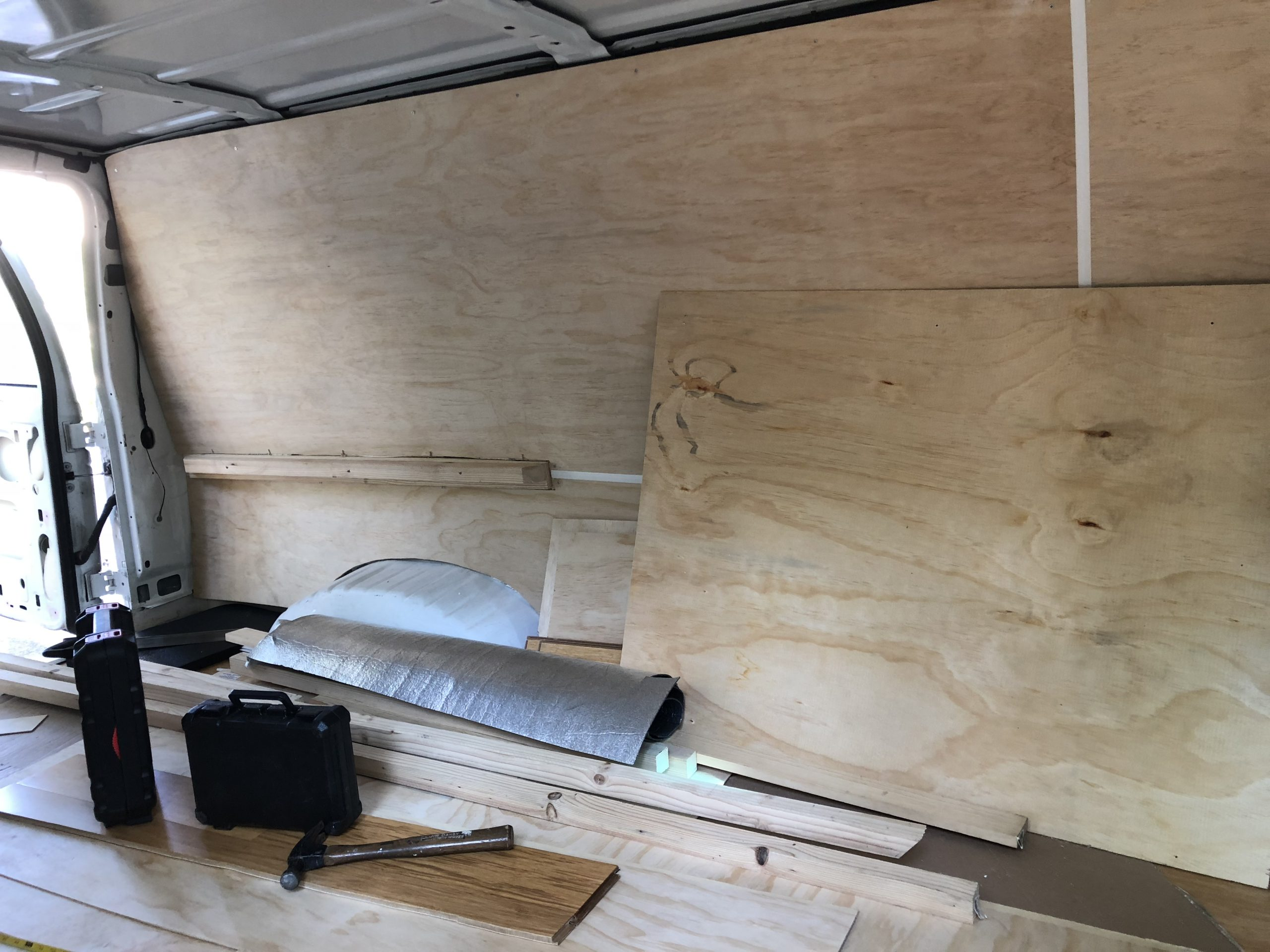 Building Out The Ford: The Walls